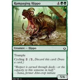 Rampaging Hippo