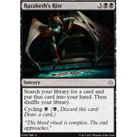 Razaketh's Rite FOIL