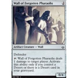 Wall of Forgotten Pharaohs FOIL