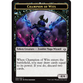 Champion of Wits 4/4 Token 02 - HOU