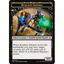 Resilent Khenra 4/4 Token - HOU