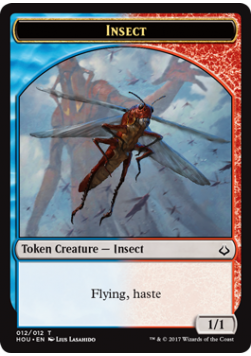 Insect 1/1 Token - HOU