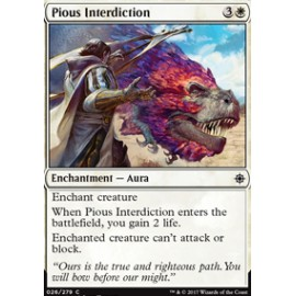 Pious Interdiction