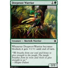 Deeproot Warrior FOIL