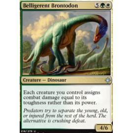 Belligerent Brontodon FOIL