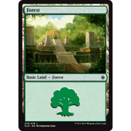 Forest Ixalan FOIL 276