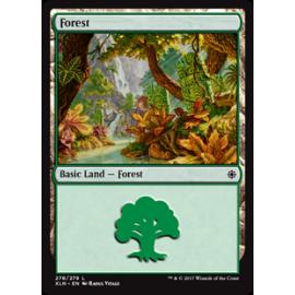 Forest Ixalan FOIL 278