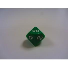 Kostka K100 - zielona