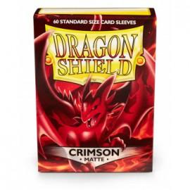 Koszulki Dragon Shield Matowe Crimson 60 szt.