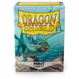 Koszulki Dragon Shield Matowe Miętowe 100 szt.
