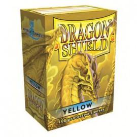 Koszulki Dragon Shield Matowe Żółte 100 szt.