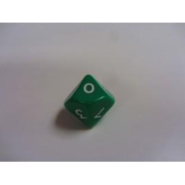 Kostka K10 - zielona