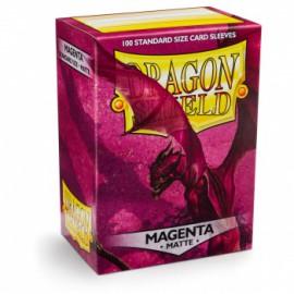 Koszulki Dragon Shield Matowe Magenta 100 szt.
