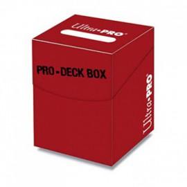Pudełko Pro-100+ Deck Box - czerwone Ultra PRO