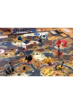 Scythe: Zestaw unikatowych kart spotkań (18 kart)