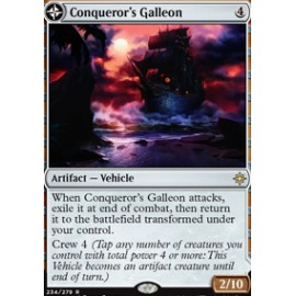 Conqueror's Galleon FOIL
