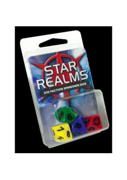 Zestaw kostek Star Realms - 4x K10 (16 mm)