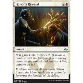 Honor's Reward