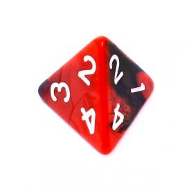 Kość Rebel K4 - czerwono-czarna