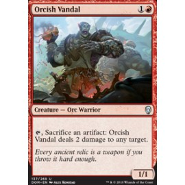 Orcish Vandal FOIL