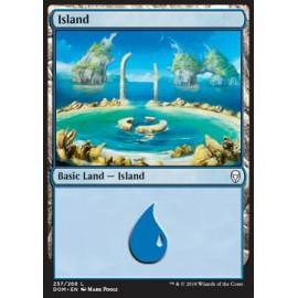 Island Dominaria FOIL 257