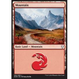 Mountain Dominaria FOIL 262