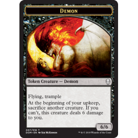 Demon 6/6 Token 07 - DOM