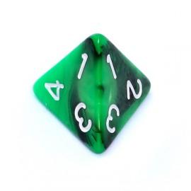 Kość Rebel K4 - zielono-czarna