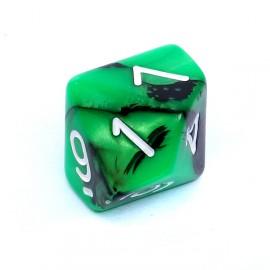 Kość Rebel K10 - zielono-czarna