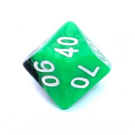 Kość Rebel K100 - zielono-czarna