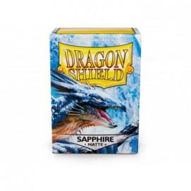 Koszulki Dragon Shield Matowe Sapphire 100 szt.