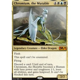 Chromium, the Mutable