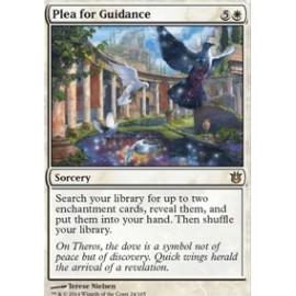 Plea for Guidance