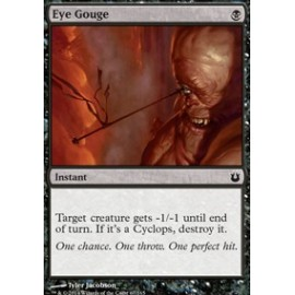 Eye Gouge