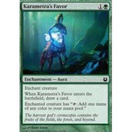 Karametra's Favor FOIL