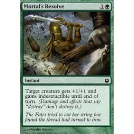 Mortal's Resolve FOIL