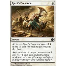 Ajani's Presence FOIL