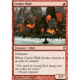 Cinder Wall