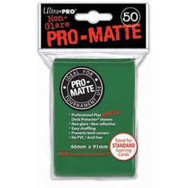 Koszulki PRO-MATTE Różowe 50szt. - Ultra Pro