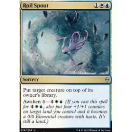 Roil Spout