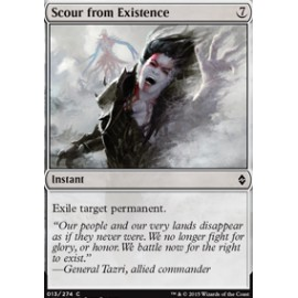 Scour from Existence FOIL