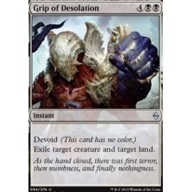 Grip of Desolation FOIL