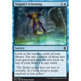 Taigam's Scheming FOIL
