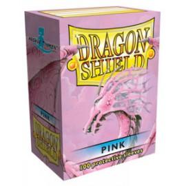 Koszulki Dragon Shield Różowe 100 szt.