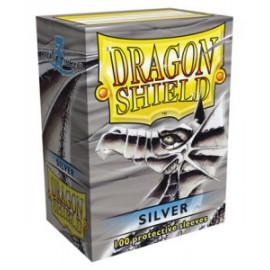 Koszulki Dragon Shield Srebrne 100 szt.