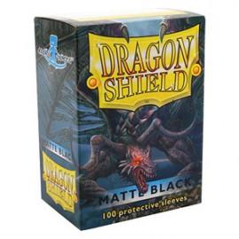 Koszulki Dragon Shield Matowe Czarne 100 szt.