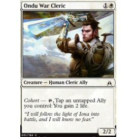 Ondu War Cleric