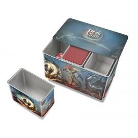 Cztery metalowe pudełka na 3 talie: Deck Vault Realms of Havoc