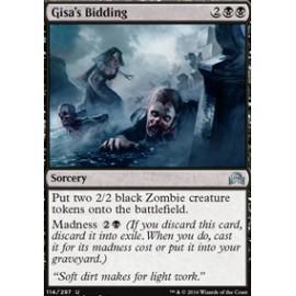 Gisa's Bidding