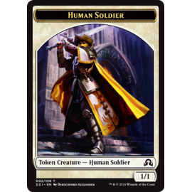 Human Soldier token SOI
